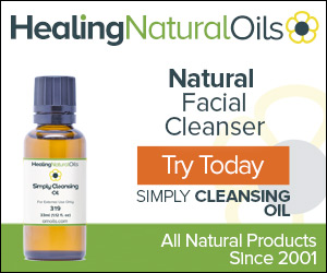 Natural Face Cleansing Oil for All Skin Types. No Additives - Just Pure Oils To Clean and Refresh*