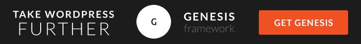 Genesis Framework by StudioPress Themes for WordPress