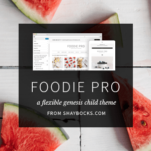 StudioPress Premium WordPress Themes: Foodie Theme