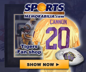 Shop for Authentic Autographed LSU Collectibles at SportsMemorabilia.com