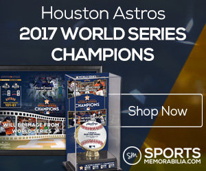 Shop for Houston Astros 2017 World Series Champs Collectibles at SportsMemorabilia.com