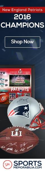 Shop for Authentic Autographed New England Patriots Super Bowl 51 Champs Collectibles at SportsMemorabilia.com