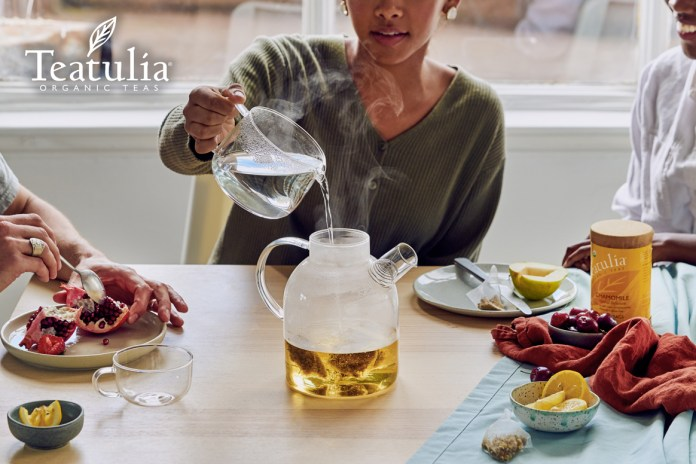 Teatulia Organic Chamomile Tea Time