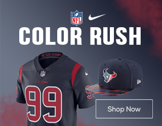 Get Houston Texans Color Rush Gear Here!