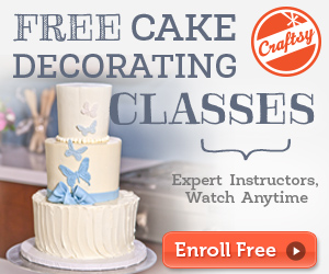 Craftsy: Free Cake Decorating Classes