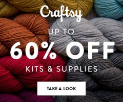 Up to 60% Off Quilt, Knit & Crochet Kits & Supplies at Craftsy.com 3/22-3/25/18 11:59pm MST.