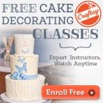 Craftsy: Free Cake Decorating Classes  Craft Directory HCSF 0001 300x250 v1
