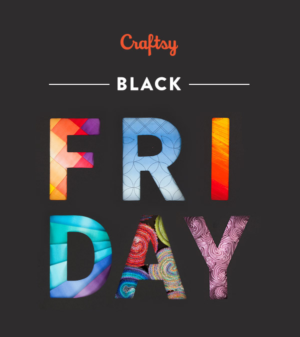 Craftsy Black Friday & Cyber Monday
