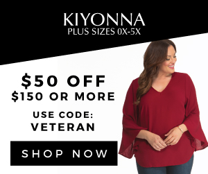 veterans day sale, kiyonna, plus size womens clothing