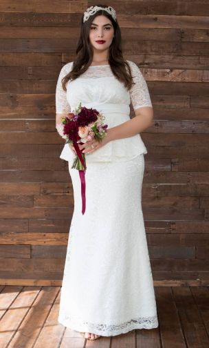 Wedding Dresses Archives - Find Plus Size Fashions