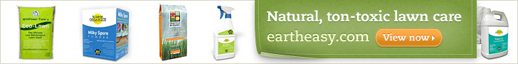 Natural, non-toxic lawn care - Eartheasy.com
