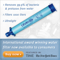 The Award Winning LifeStraw Personal Water Filter