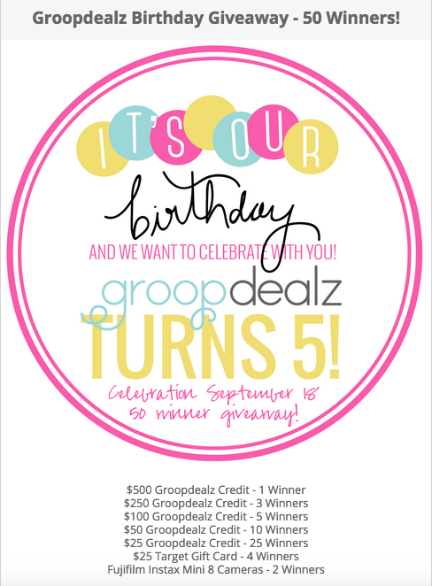 Groopdealz Birthday