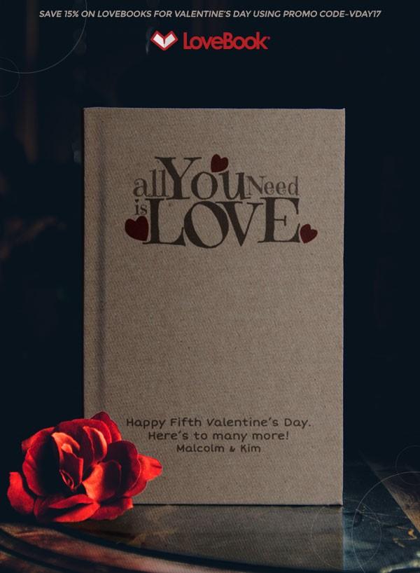 Valentine's Day - LoveBook