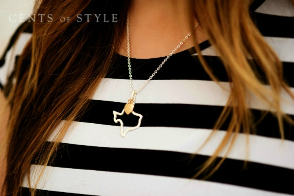 IMAGE: Fashion Friday- 3/20/15- State Necklaces- $11.95 & FREE SHIPPING, +20% Commission w/Code HOME
