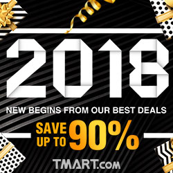 2018 New Year Deals-Up To 90% OFF