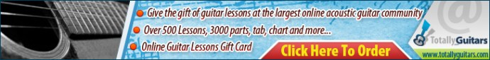 guitar lessons gift card
