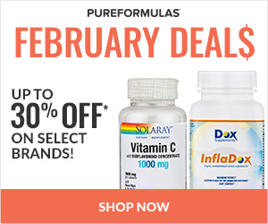 25% off February Dealsat Pure Formulas