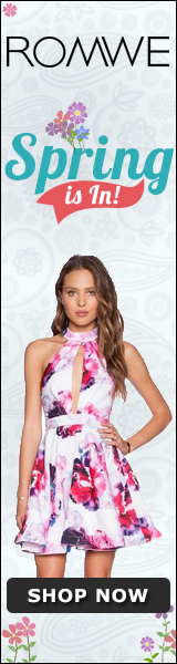 pring is In at ROMWE.com! Shop for spring styles today!