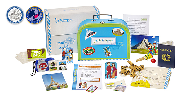 A geography themed subscription box can be a great way to explore the world with young kids.