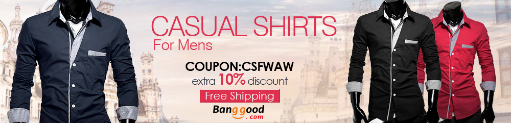 Casual Shirts - Banggood