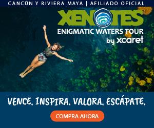Xenotes Oasis Maya Misticismo, naturaleza y aventura en cuatro diferentes cenotes. Kayak, rappel, snorkel y tirolesa todo incluido en Cancún.