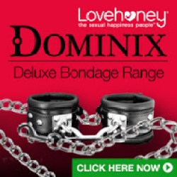 Dominix - an exclusive Lovehoney.com range of luxury bondage gear