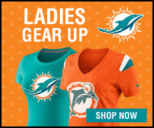 Shop Ladies gear at the official online store of the Miami Dolphins!