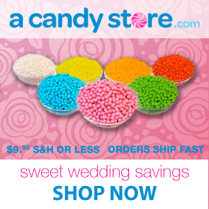 Acandystore.com Sweet wedding savings