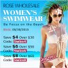 Sexy Womens Swimwear: Save Up to $8 at Rosewholesale! (Ends: 05/30/2015)