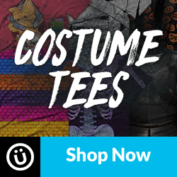Shop the costume tee collection at DesignByHumans.com.