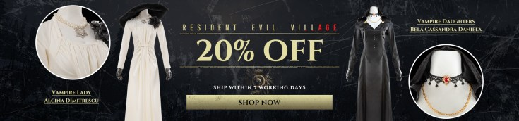 20% OFF for Resident Evil Village