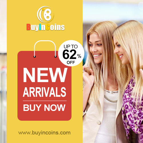 New arrivals! Up to 62% off!