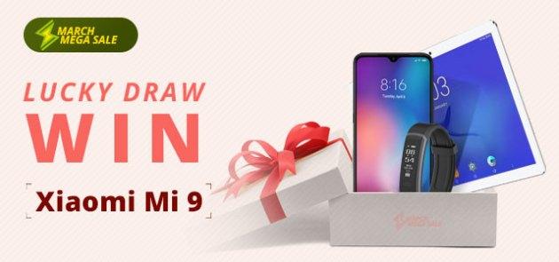 Play Lucky Draw & Win Xiaomi Mi9