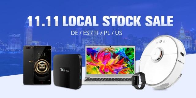 Geekbuying 11.11 Local Stock(DE/ES/IT/PL/US) Sale
