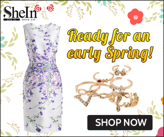Get ready for an early spring with new fashions daily at SheIn.com