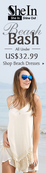 Beach Bash Sale - All Items under $32.99 SheIn.com! Ends 5/23
