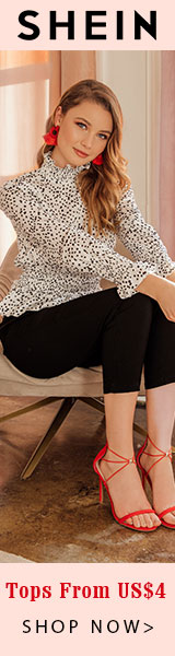 Shop Our Best Selling Tops at SHEIN.com - Starting at US$4 with code No Code Needed Offer Expires - 02/04
