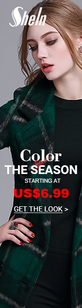 Color of the Season Sale - All Items starting at $6.99 at SheIn.com! Ends 11/28