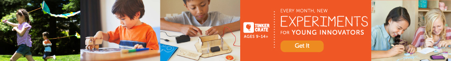 Tinker Crate Inspires Young Innovators
