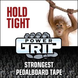 power-grip pedalboard tape