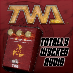 twa guitar effects pedals