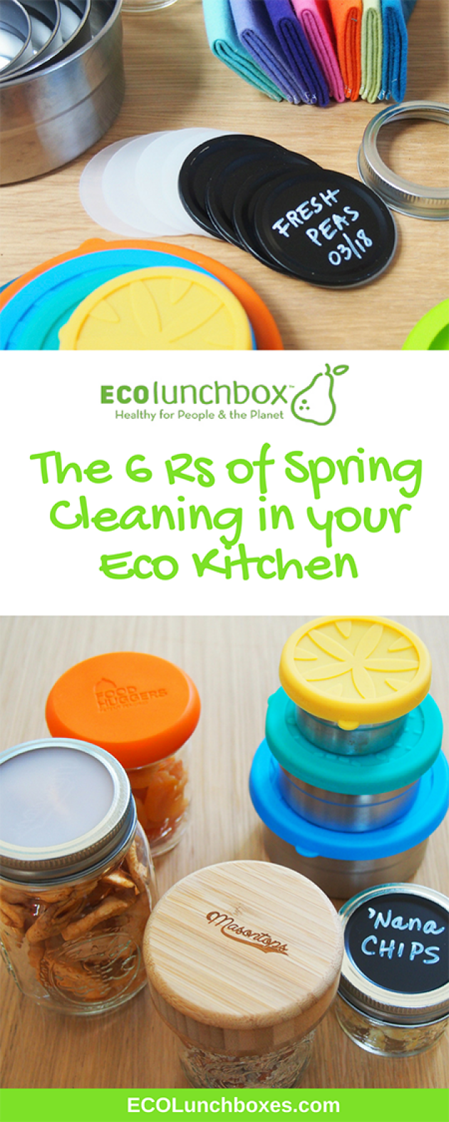 The Six Rs of Spring Cleaning in your ECO kitchen