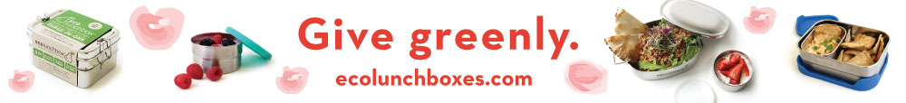 Gift greenly with ECOlunchbox