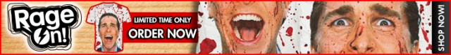 American Psycho All Over Print RageOn Banner