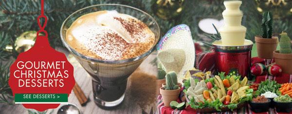 Christmas Gourmet Desserts