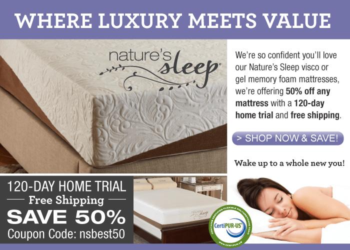 Nature S Sleep Mattress Review Mattress Disposal Plus