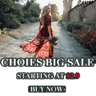 CHOIES MEGA SALE,Leading Trends Carnival,From $2.9!