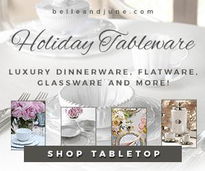 Shop luxury dinnerware, flatware, glassware and more www.belleandjune.com