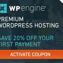 20% Off WP Engine